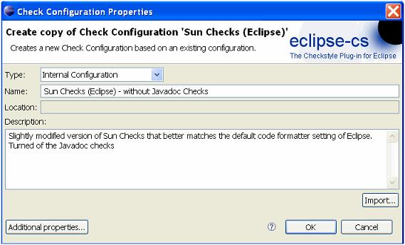 Configuring Checkstyle