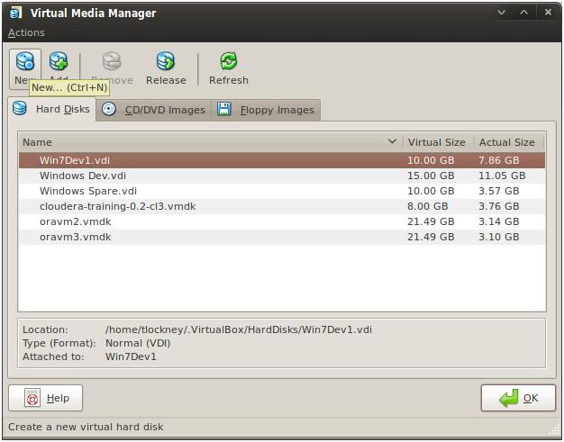 Virtual Media Manager